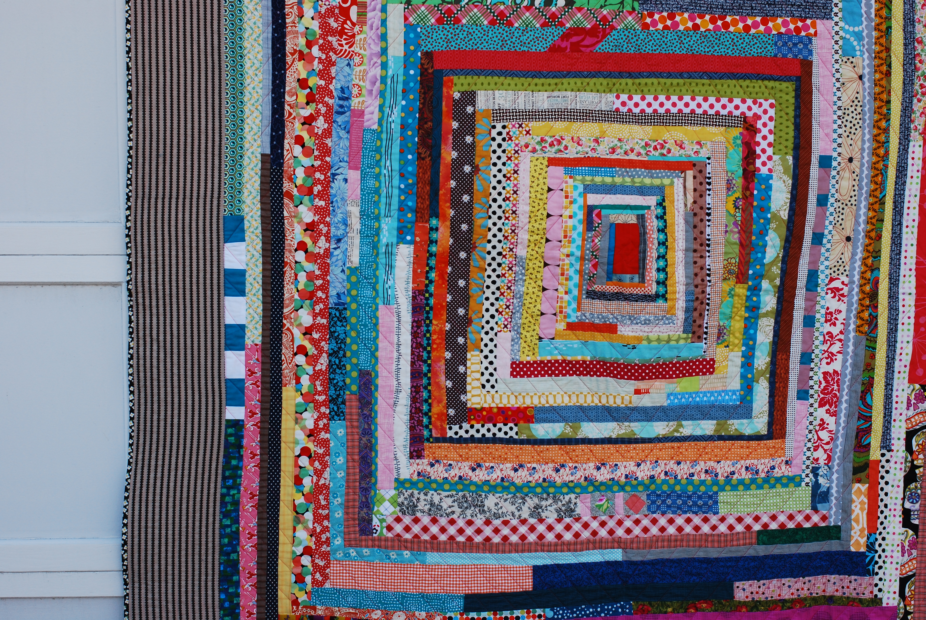 Traditionally, The Center Of Any Log Cabin Quilt Block Is Red. This  Represents The Hearth And Center Of The Home. The Light And The Warmth.